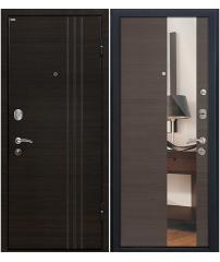 Входная дверь М15 грей/зеркало