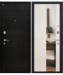 Входная дверь М15 эшвайт/зеркало