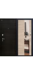 Входная дверь М15 капучино/зеркало
