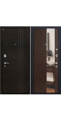 Входная дверь М15 венге/зеркало