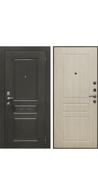 Входная дверь SD PROF-10 ТРОЯ светлый дуб