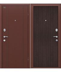 Входная дверь Door Out 201 антик медь/wenge veralinga