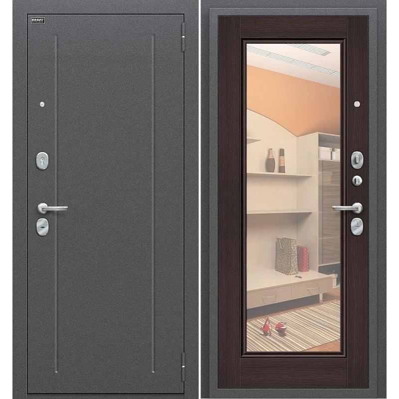 Входная дверь Флэш антик серебро/wenge veralinga