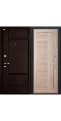 Входная дверь М17 Profildoors 17X капучино\белый лак