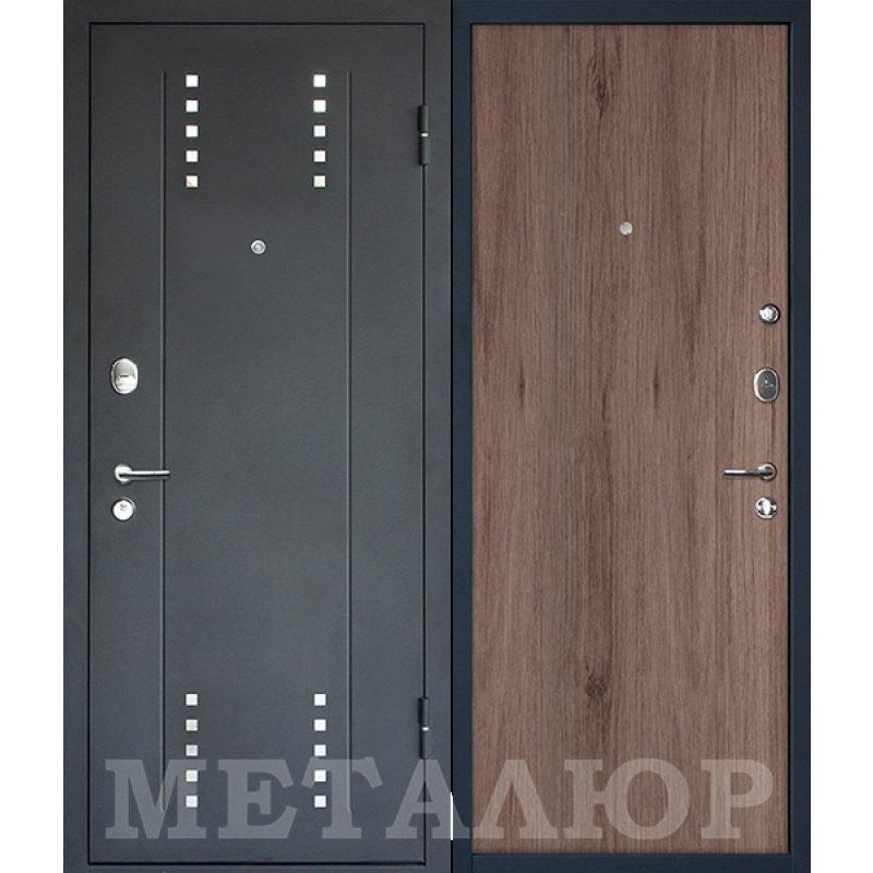 Входная дверь М26  Profildoors 1ZN салинас темный