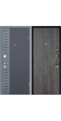 Входная дверь М28  Deform дуб шале графит