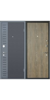 Входная дверь М28  Deform дуб шале натуральный