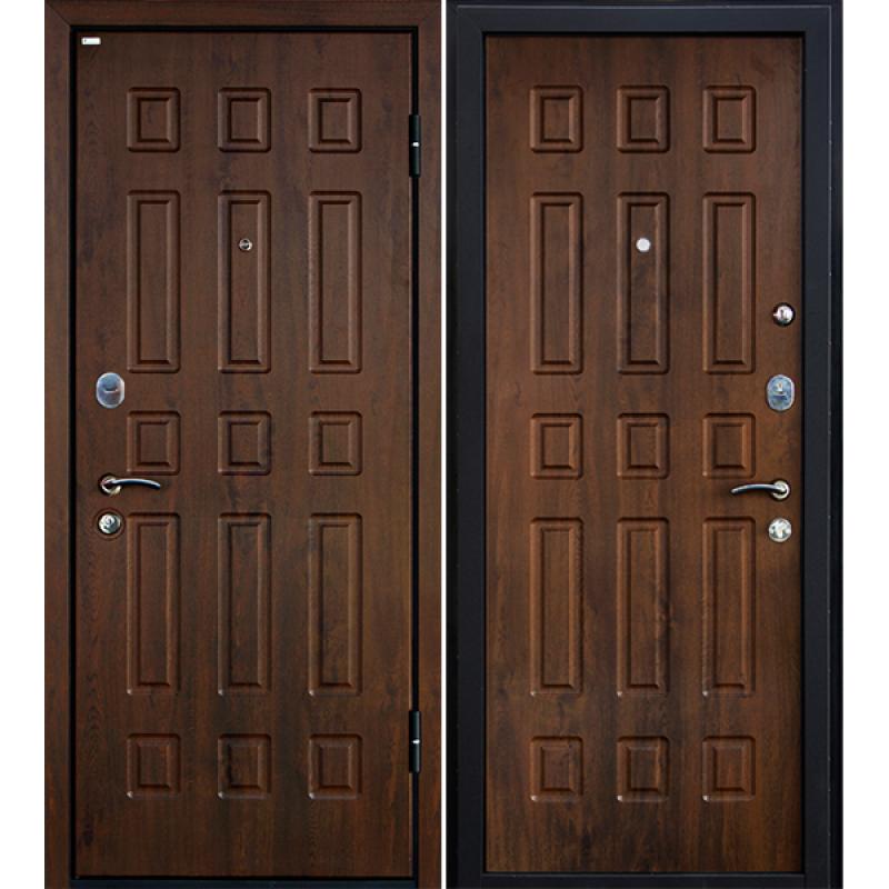 Входная дверь М3 тёмный орех