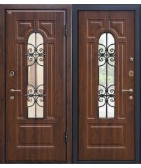 Входная дверь М30 темный орех