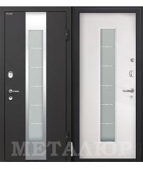 Входная дверь М35 белый малибу