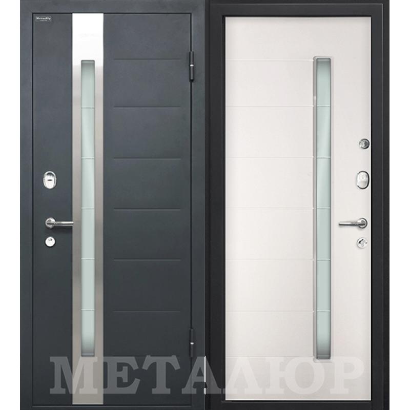 Входная дверь М36  белый малибу