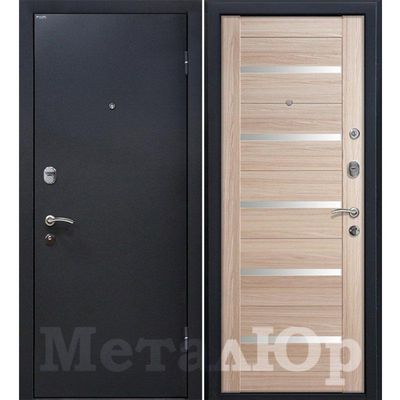 Входная дверь М41  Profildoors 7X капучино\белый лак