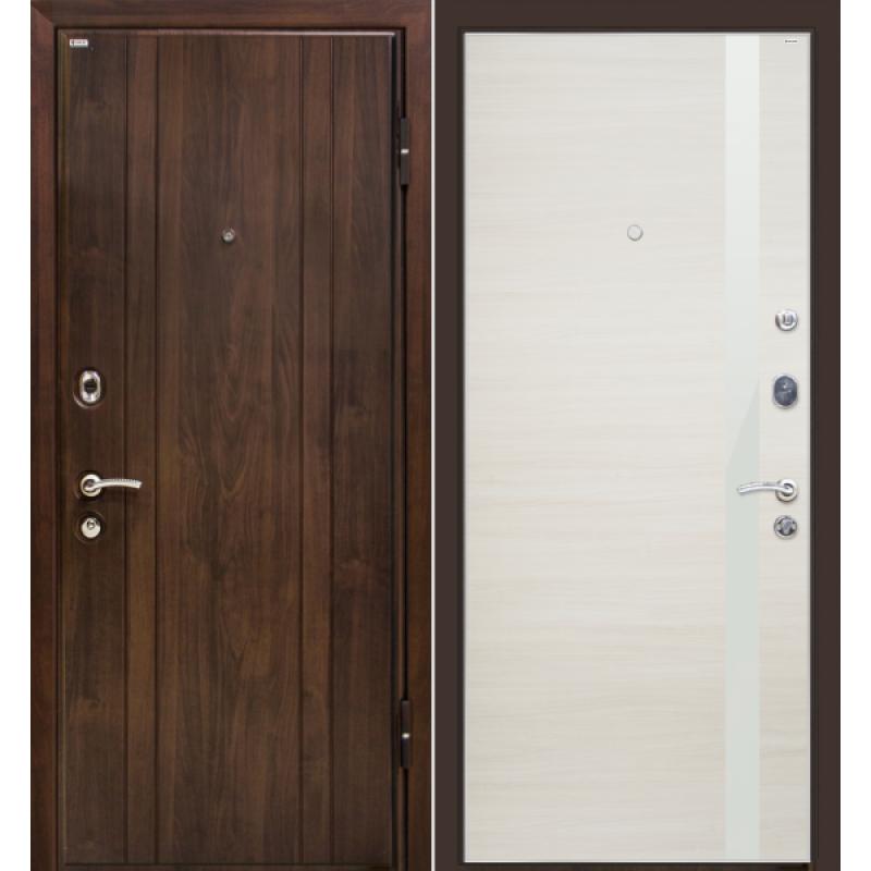 Входная дверь М6 Profildoors 6z эшвайт кроскут/белый лак