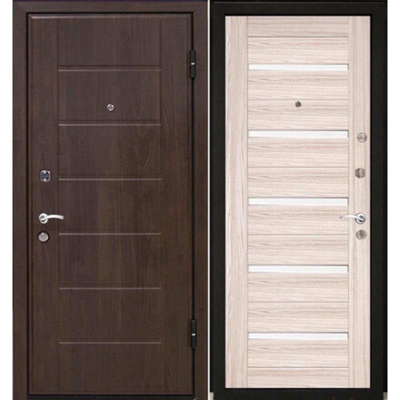 Входная дверь М7 Profildoors 7x капучино/белый лак