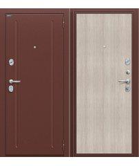 Входная дверь Норма антик медь/cappuccino Veralinga