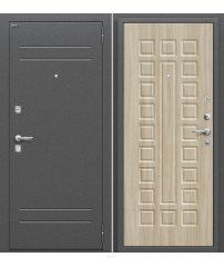 Входная дверь Нова Антик Серебро/Шимо Светлый