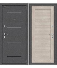 Входная дверь Porta R 104.П21 антик серебро/cappuccino veralinga
