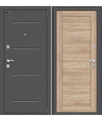 Входная дверь Porta R 104.П21 антик серебро/light sonoma