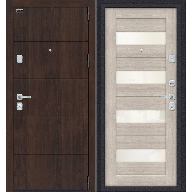 Входная дверь Porta M 4.П23 almon 28/cappuccino veralinga