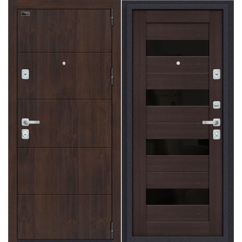 Входная дверь Porta M 4.П23 almon 28/wenge veralinga