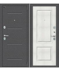 Входная дверь Porta S 104.К32 антик серебро/bianco veralinga