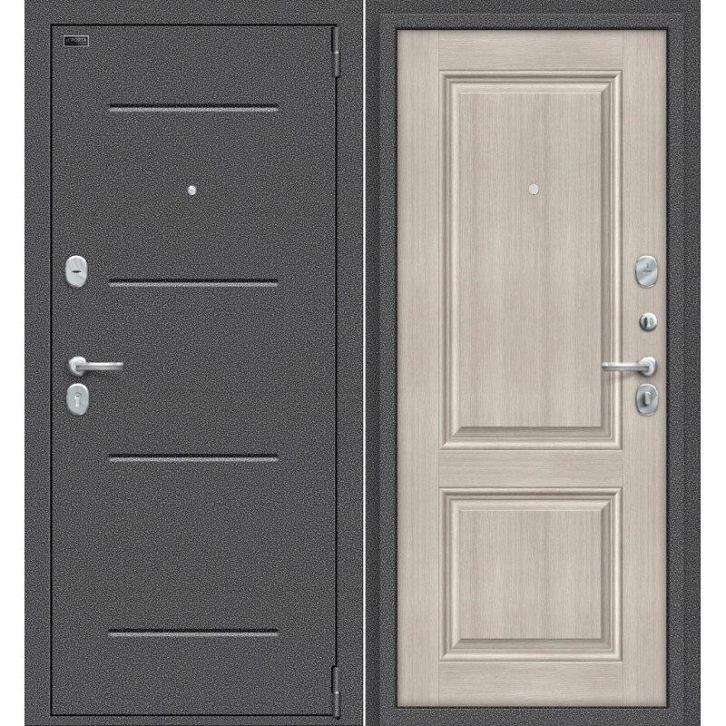 Входная дверь Porta S 104.К32 антик серебро/cappuccino veralinga
