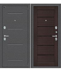 Входная дверь Porta S 104.П22 антик серебро/wenge veralinga