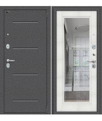 Входная дверь Porta S 104.П61 антик серебро/bianco veralinga