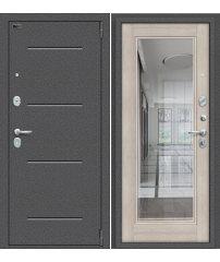 Входная дверь Porta S 104.П61 антик серебро/cappuccino veralinga