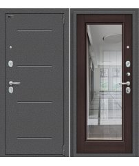 Входная дверь Porta S 104.П61 антик серебро/wenge veralinga