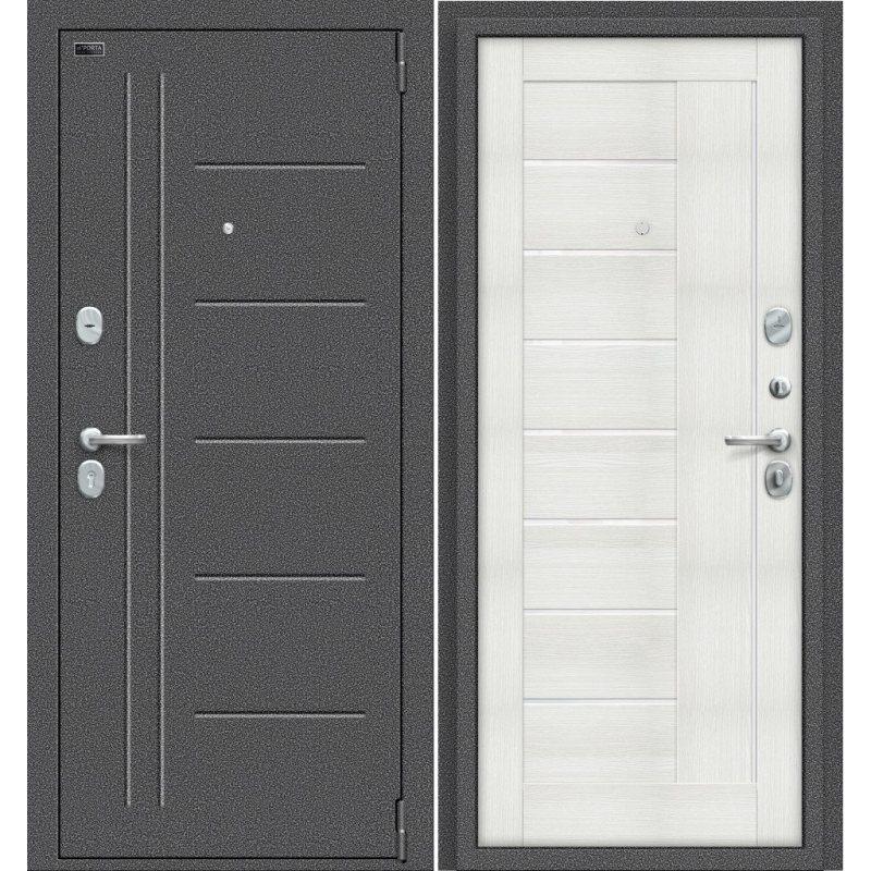Входная дверь Porta S 109.П29 антик серебро/bianco veralinga