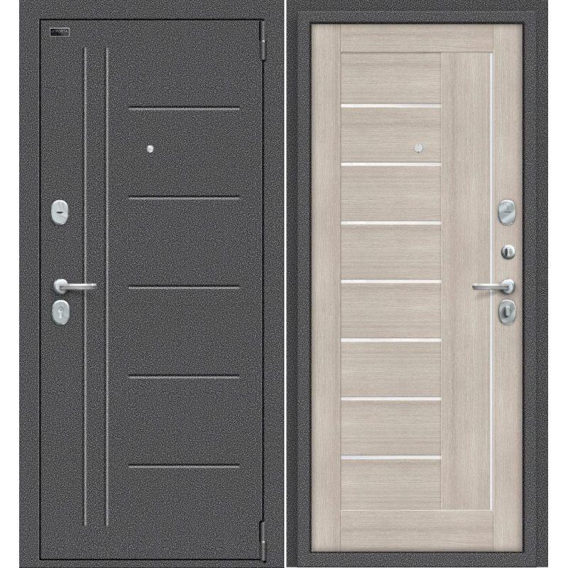 Входная дверь Porta S 109.П29 антик серебро/cappuccino veralinga