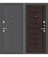 Входная дверь Porta S 109.П29 антик серебро/wenge veralinga
