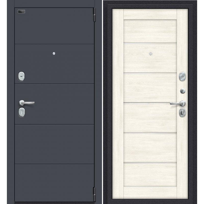 Входная дверь Porta S 4.Л22 graphite pro/nordic oak