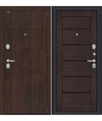 Входная дверь Porta S 4.П22 (Прайм) almon 28/wenge veralinga