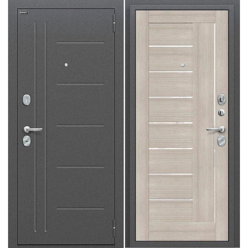 Входная дверь Проф антик серебро/сappuccino veralinga