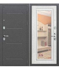Входная дверь Р2-216 антик серебро/П-25 (Беленый Дуб)