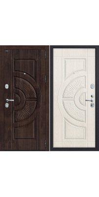 Входная дверь Р3-312 П-28 (Темная Вишня)/П-25 (Беленый Дуб)