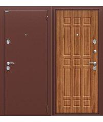 Входная дверь Старт антик медь/Янтарный Дуб