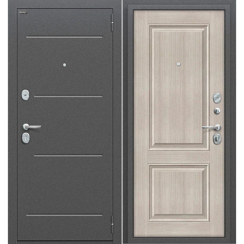 Входная дверь Стиль антик серебро/cappuccino veralinga