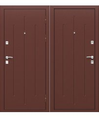 Входная дверь Стройгост 7-2 антик медь/антик медь