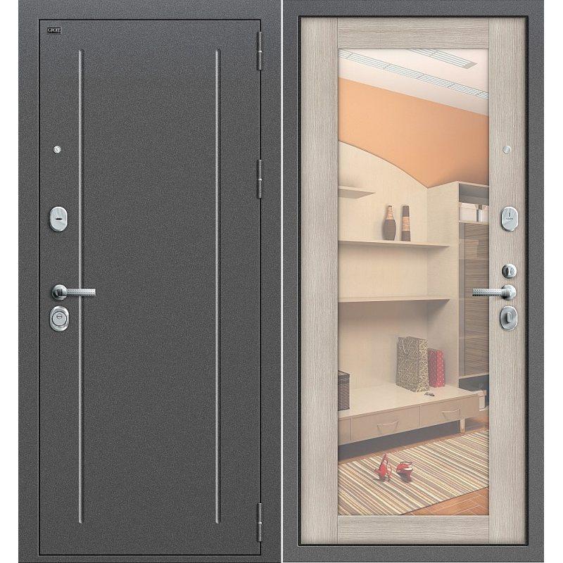 Входная дверь Т2-220 антик серебро/cappuccino veralinga