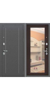 Входная дверь Т2-220 антик серебро/wenge veralinga
