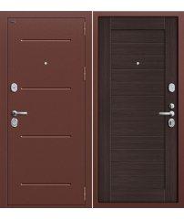 Входная дверь Т2-221 антик медь/wenge veralinga
